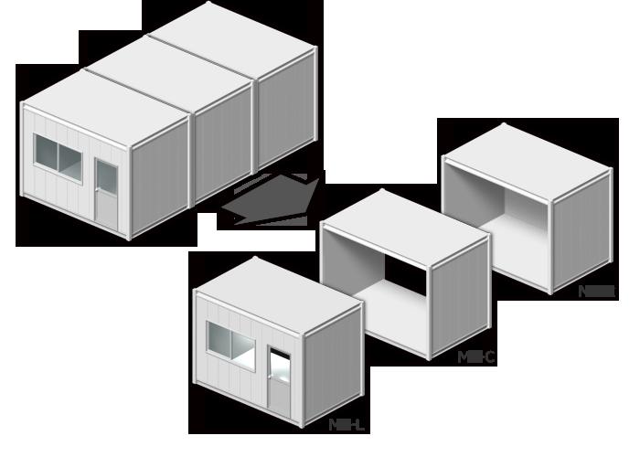 モデリンクハウスシリーズ リレーションタイプ(MR)ベースモデル