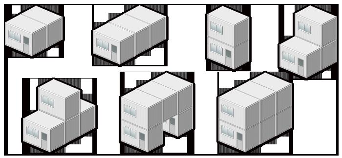 リレーションタイプ(MR)ベースモデル組合せ例